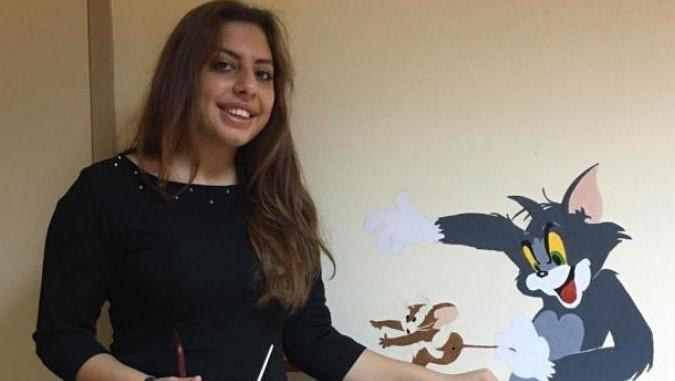 boyama Üniversiteliler Çocuk Hastaları Sevindirdi (Görüntülü)
