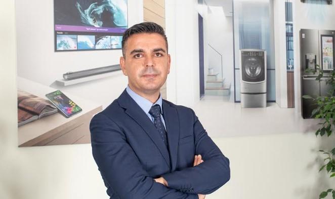 Bülent Bülbül, LG Türkiye Ev Eğlencesi Elektroniği ve Beyaz Eşya Ürün Grupları Satış Başkanı Oldu