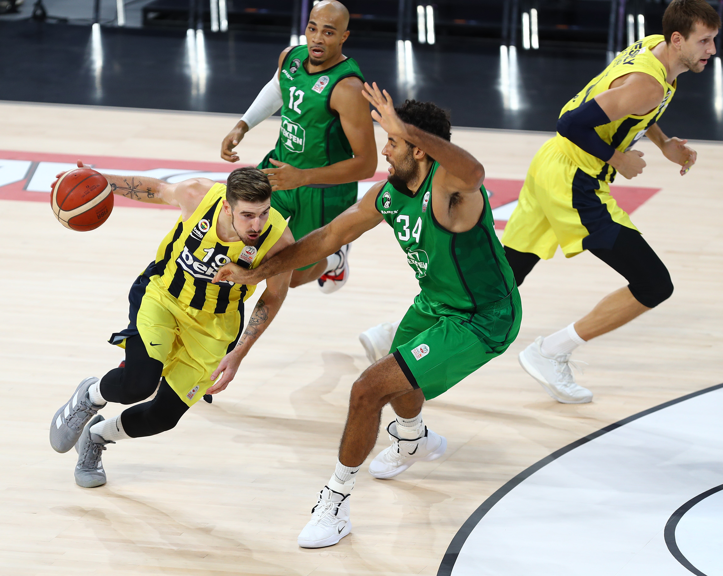 Turnuva'da Kazanan Fenerbahçe Beko Oldu