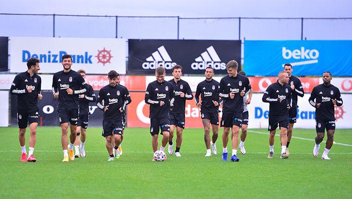 Beşiktaş'ta Rio Ave Maç Hazırlıkları Başladı